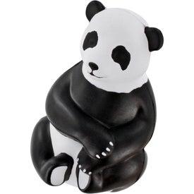 Imprinted Sitting Panda Stress Ball