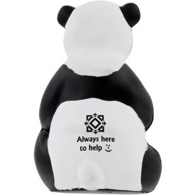 Advertising Sitting Panda Stress Ball