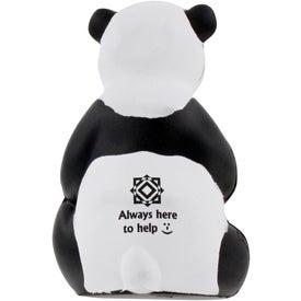 Advertising Sitting Panda Stress Ball