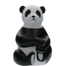 Custom Sitting Panda Stress Ball