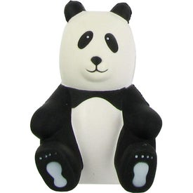 Sitting Panda Stress Ball Branded with Your Logo
