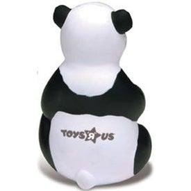 Sitting Panda Stress Ball for your School
