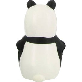 Sitting Panda Stress Ball for Your Company