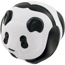 Custom Panda Ball Stress Toy