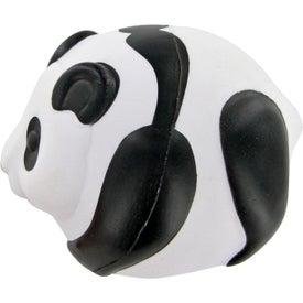 Personalized Panda Ball Stress Toy