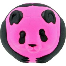 Custom Panda Ball Stress Toy