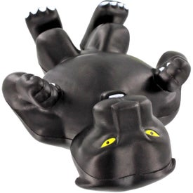 Panther Mascot Stress Ball Giveaways