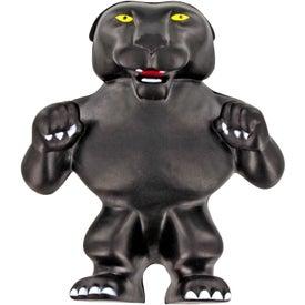 Panther Mascot Stress Ball