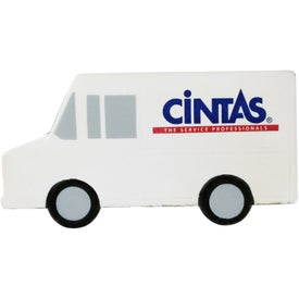 Parcel Van Stress Ball Branded with Your Logo