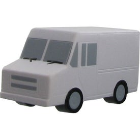 Parcel Van Stress Ball Imprinted with Your Logo
