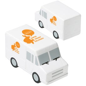 Parcel Van Stress Ball for your School