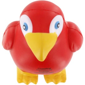 Parrot Stress Reliever Imprinted with Your Logo