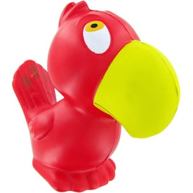 Customized Parrot Stress Toy