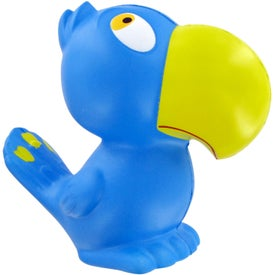 Printed Parrot Stress Toy