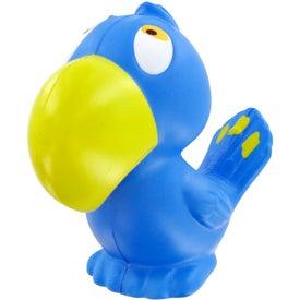 Custom Parrot Stress Toy