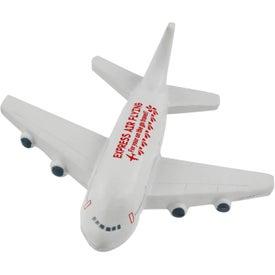 Monogrammed Passenger Airplane Stress Ball