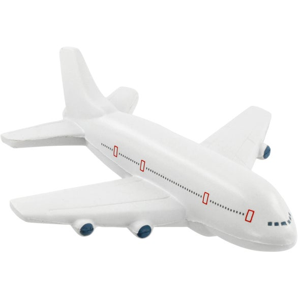 Gray Passenger Airplane Stress Ball
