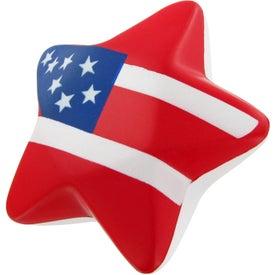 Patriotic Design Star Stress Toy Giveaways