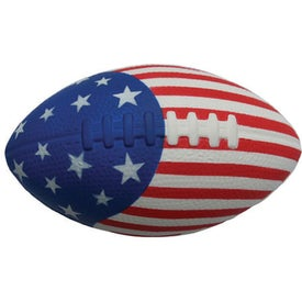 Customized Patriotic Football Stress Toy