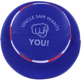 Patriotic Mad Cap Stress Ball for Your Church