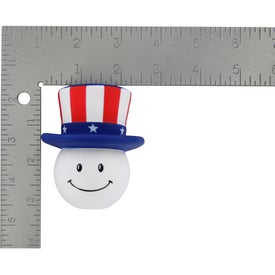 Patriotic Mad Cap Stress Ball for Your Organization