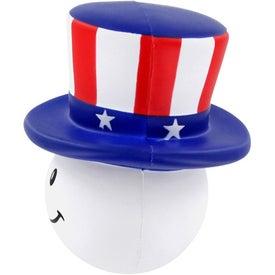 Custom Patriotic Mad Cap Stress Ball