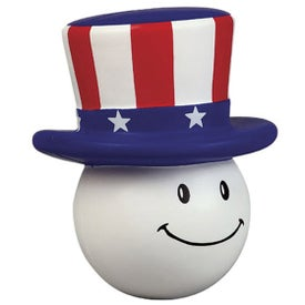 Patriotic Mad Cap Stress Ball