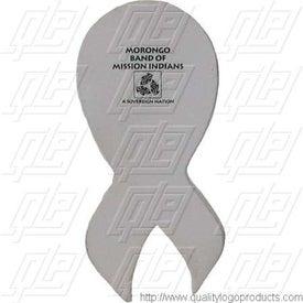 Imprinted Patriotic Ribbon Stress Ball