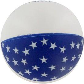 Patriotic Stress Ball for Marketing