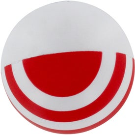 Patriotic Stress Ball with Your Slogan