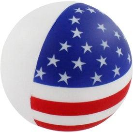 Printed Patriotic Stress Ball