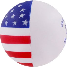 Patriotic Stress Ball with Your Logo