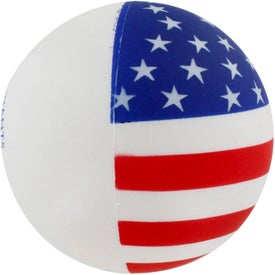 Personalized Patriotic Stress Ball
