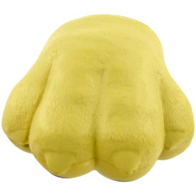 Dog Paw Stress Ball with Your Slogan