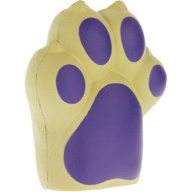 Monogrammed Dog Paw Stress Ball