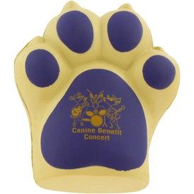 Dog Paw Stress Ball for Marketing