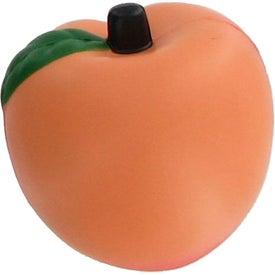 Branded Peach Stress Reliever