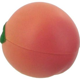 Personalized Peach Stress Ball