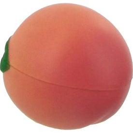 Personalized Peach Stress Ball