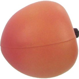 Peach Stress Ball for Advertising