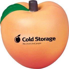Peach Stress Ball for Your Company