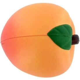 Advertising Peach Stress Ball