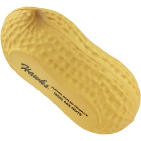 Peanut Stress Ball with Your Slogan