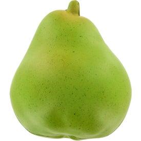Monogrammed Pear Stress Ball