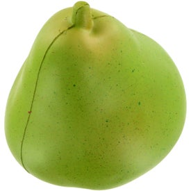 Imprinted Pear Stress Ball