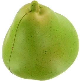 Imprinted Pear Stress Ball