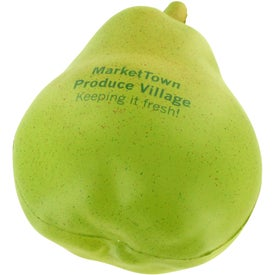 Pear Stress Ball for Marketing