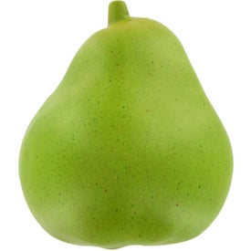 Pear Stress Ball Printed with Your Logo
