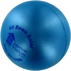 Pearl Luster Squeeze Ball Stress Relievers for Promotion