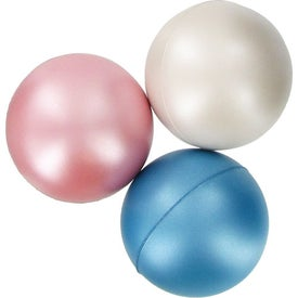 Pearl Luster Squeeze Ball Stress Relievers